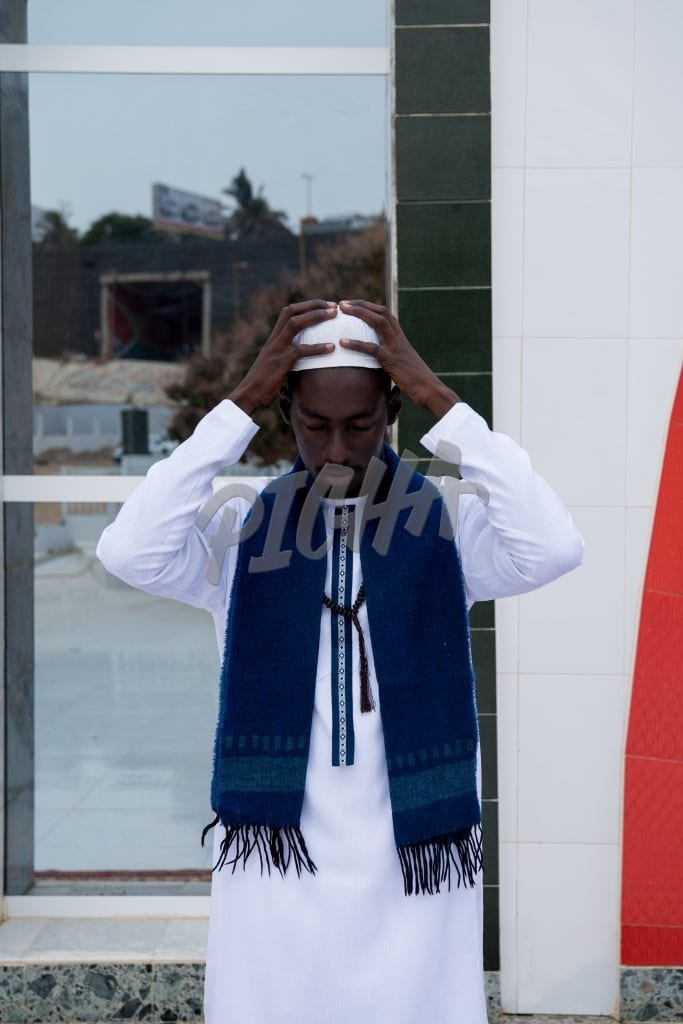 Prayer at the mosque