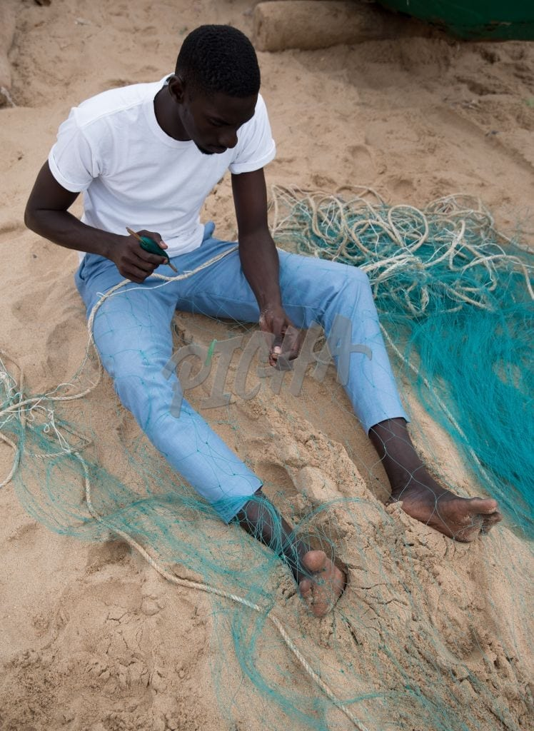 Making fishing nets