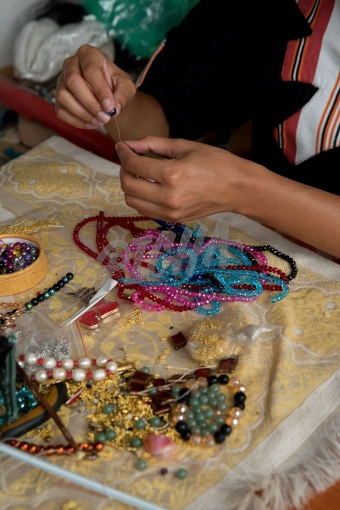 Working with beads