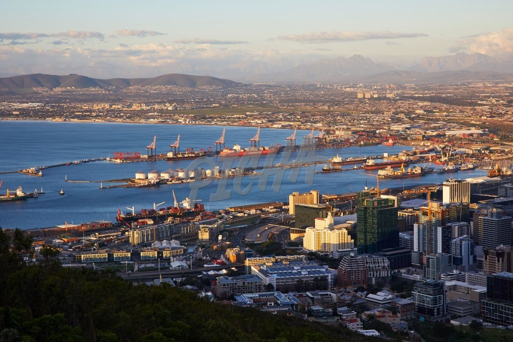 Port in Cape Town