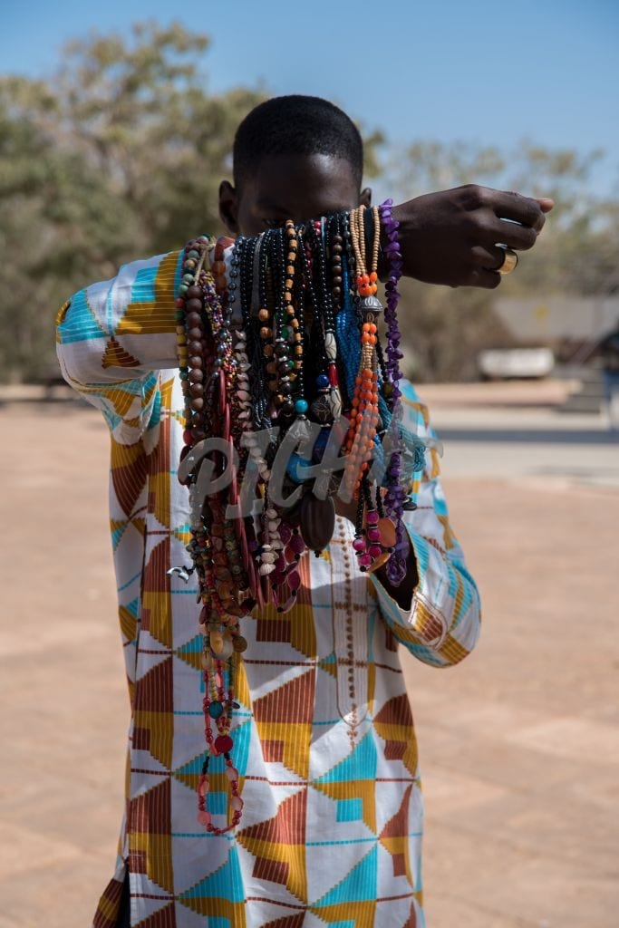 adult selling jewelry
