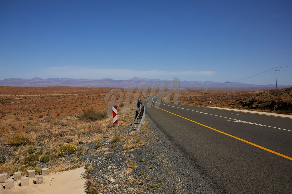 Deserted Road in the Karoo