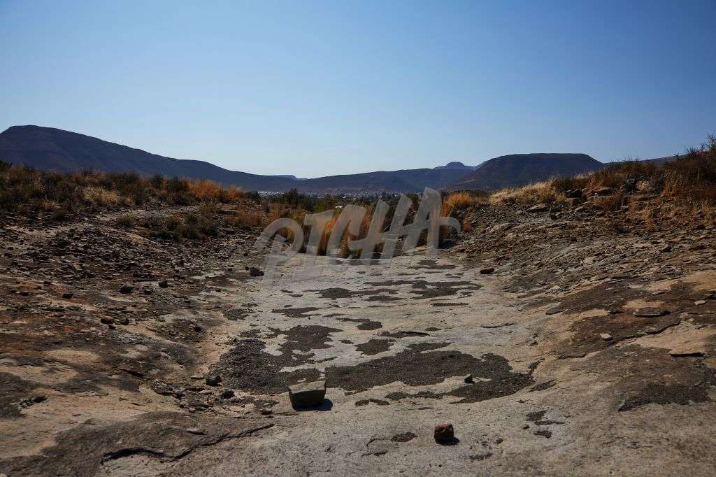 Dry River Bed in Graaff-Reinet