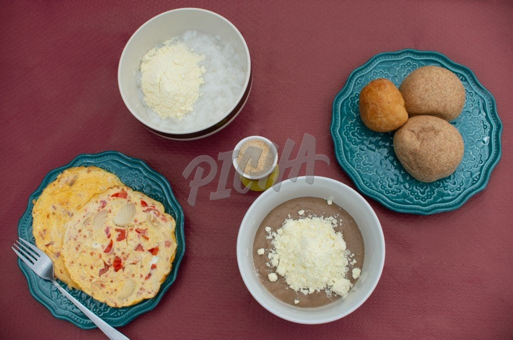 Ghanaian breakfast