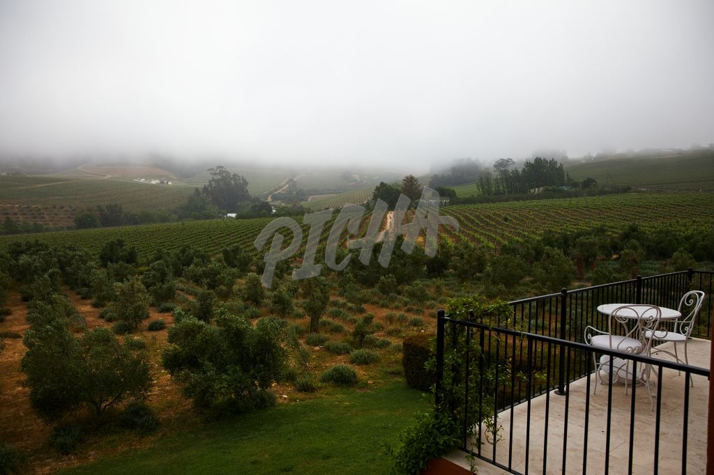 Misty Franschoek Valley views