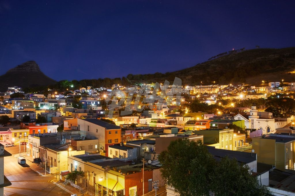 Landscape of Bo Kaap houses