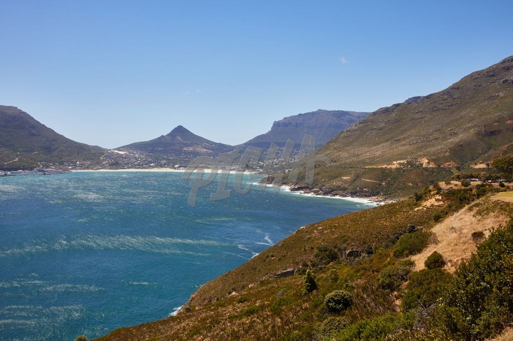 Water currents in Hout Bay