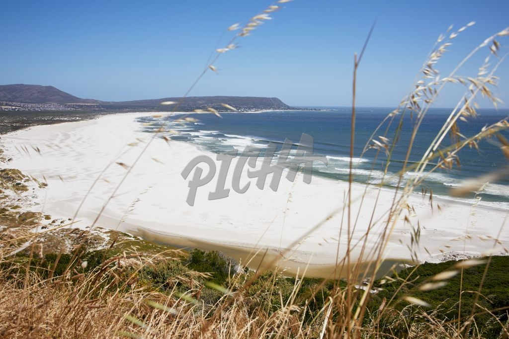 Pristine empty beaches of Noordhoek