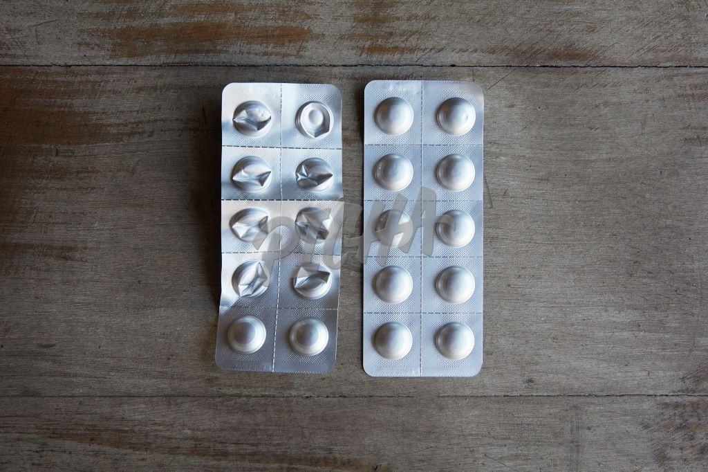 Blister pack of tablets