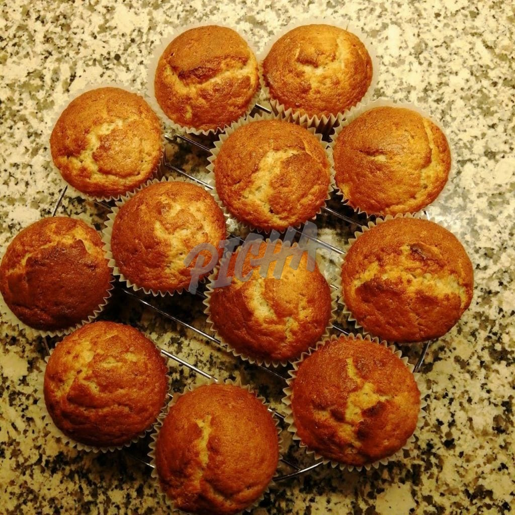 A selection of muffins