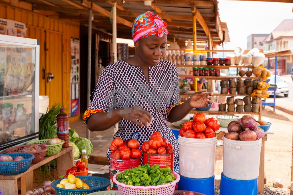Young Market Woman