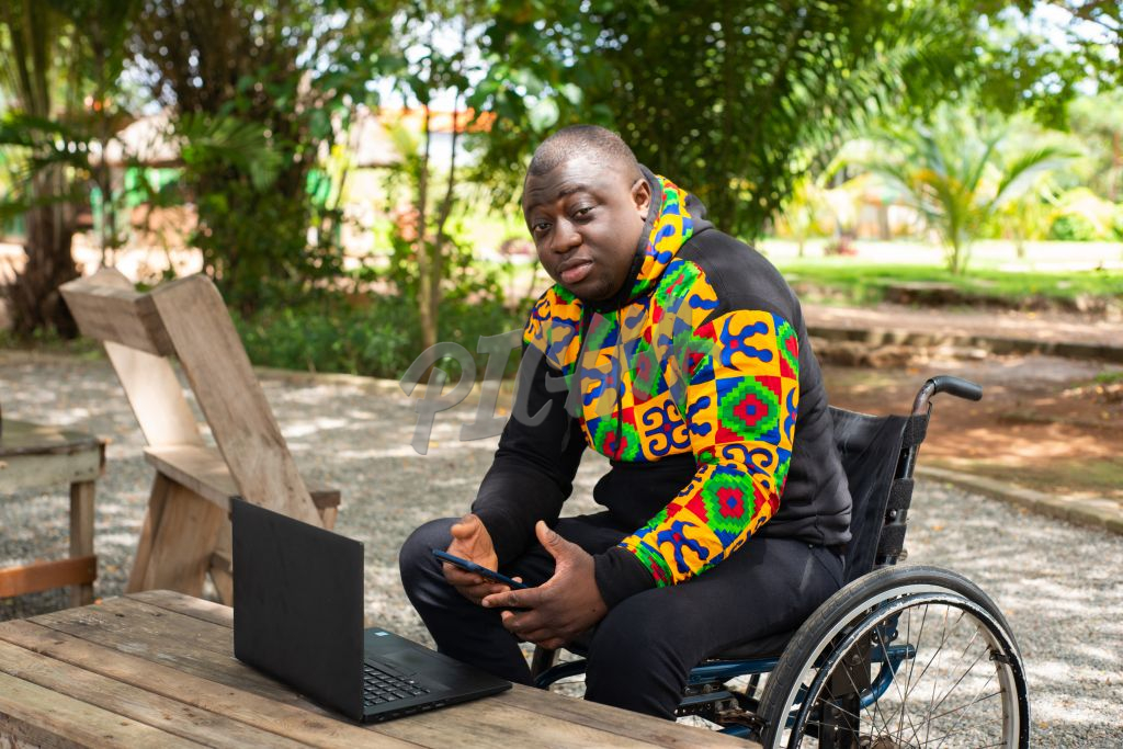 person with disability working